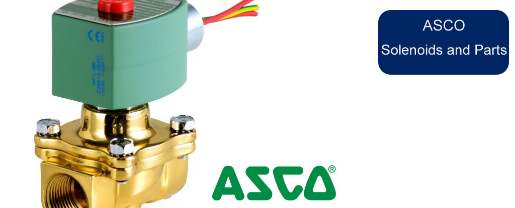ASCO Solenoid Valves and Parts